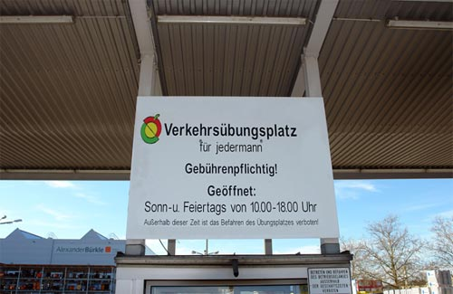 Verkehrsübungsplatz in Freiburg